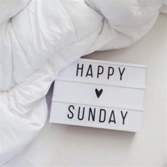 A special Sunday